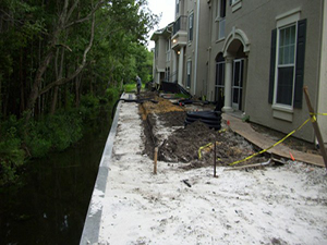 Hunter's Creek Seawall Repair