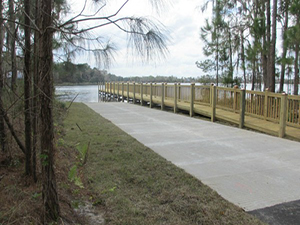 MI Homes Boatramp & Dock