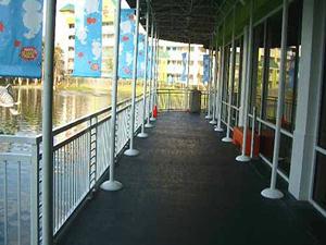 Nickelodeon Walkway