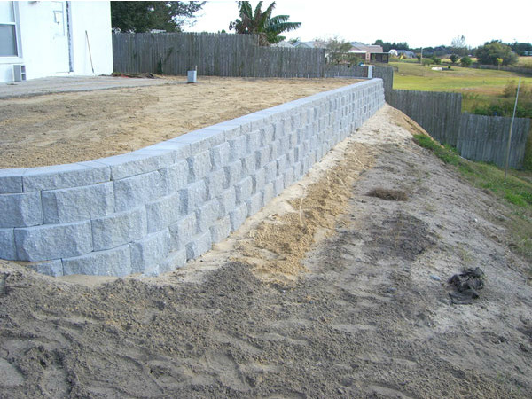 Retaining Wall Construction In Orlando Fl Fender Marine