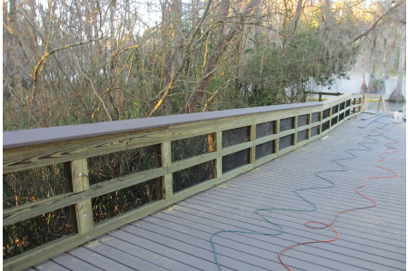 Blue Run Park Boardwalk