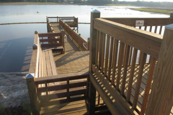 Southern Yellow Pine Picket Railing