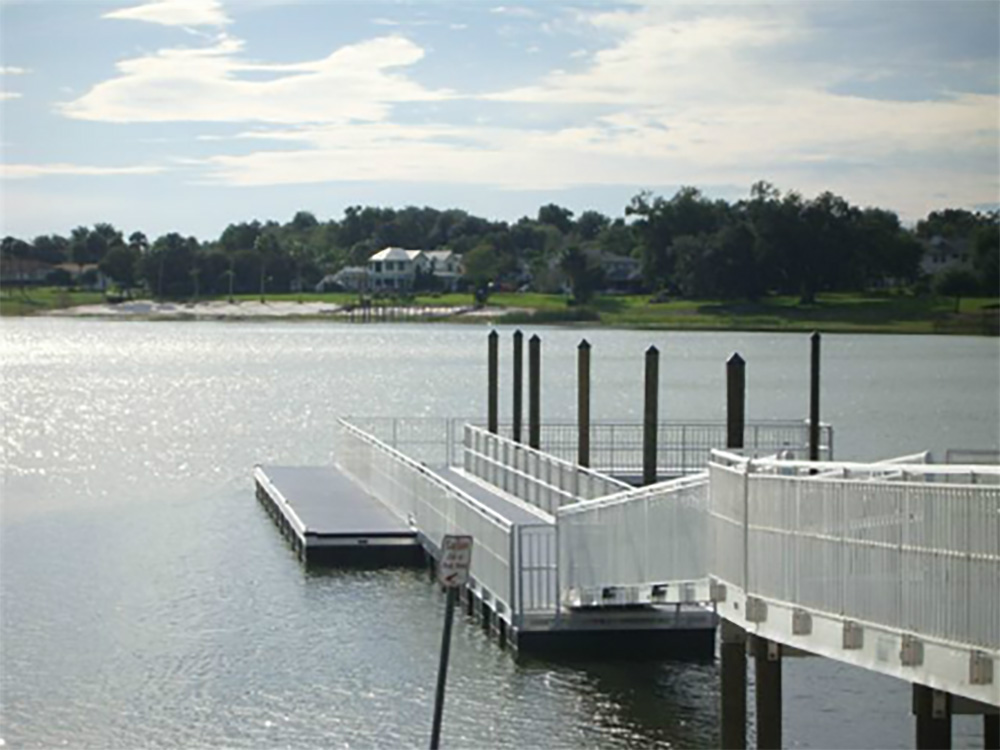 basic dock construction central florida