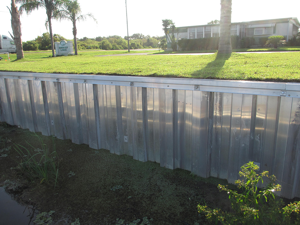 custom retaining wall services