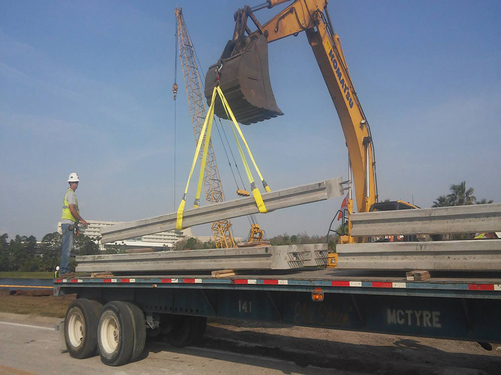 Concrete Pile Driving