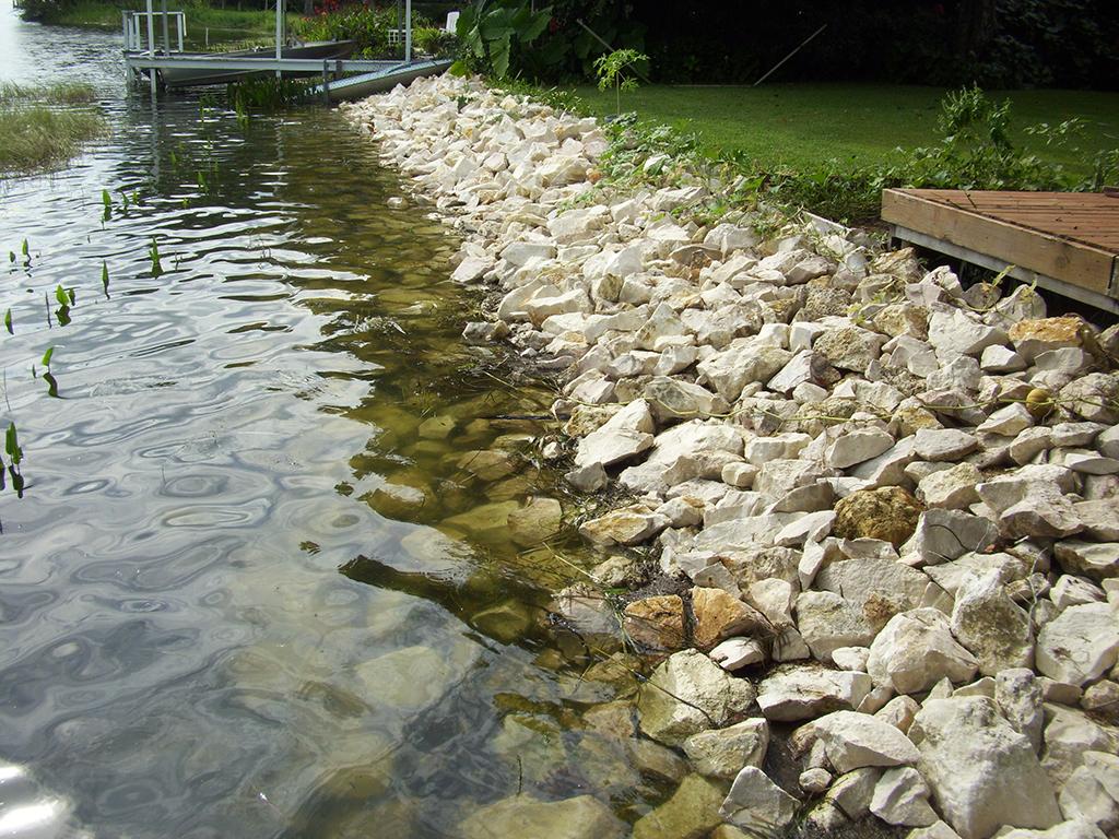 rock stone revetment