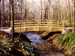 Woodland Vehicle Bridge