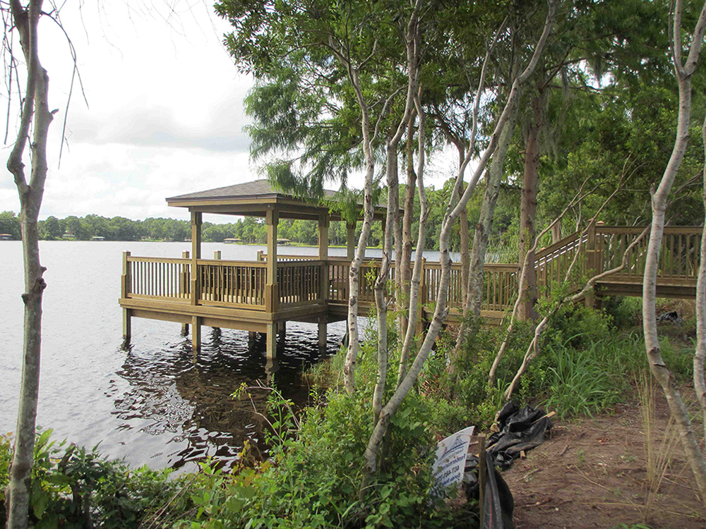 custom dock builders central florida