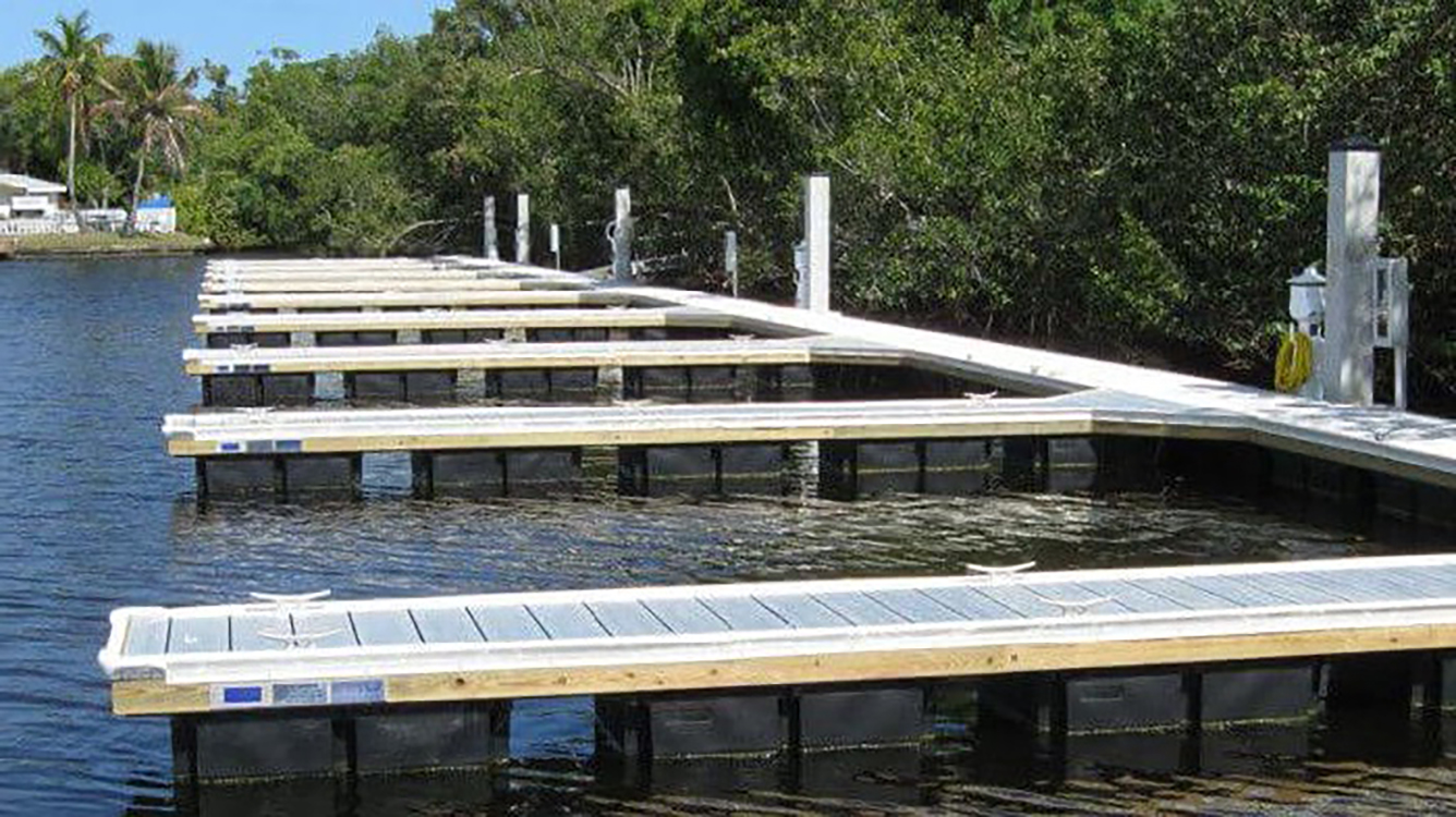 aluminum floating dock fender marine