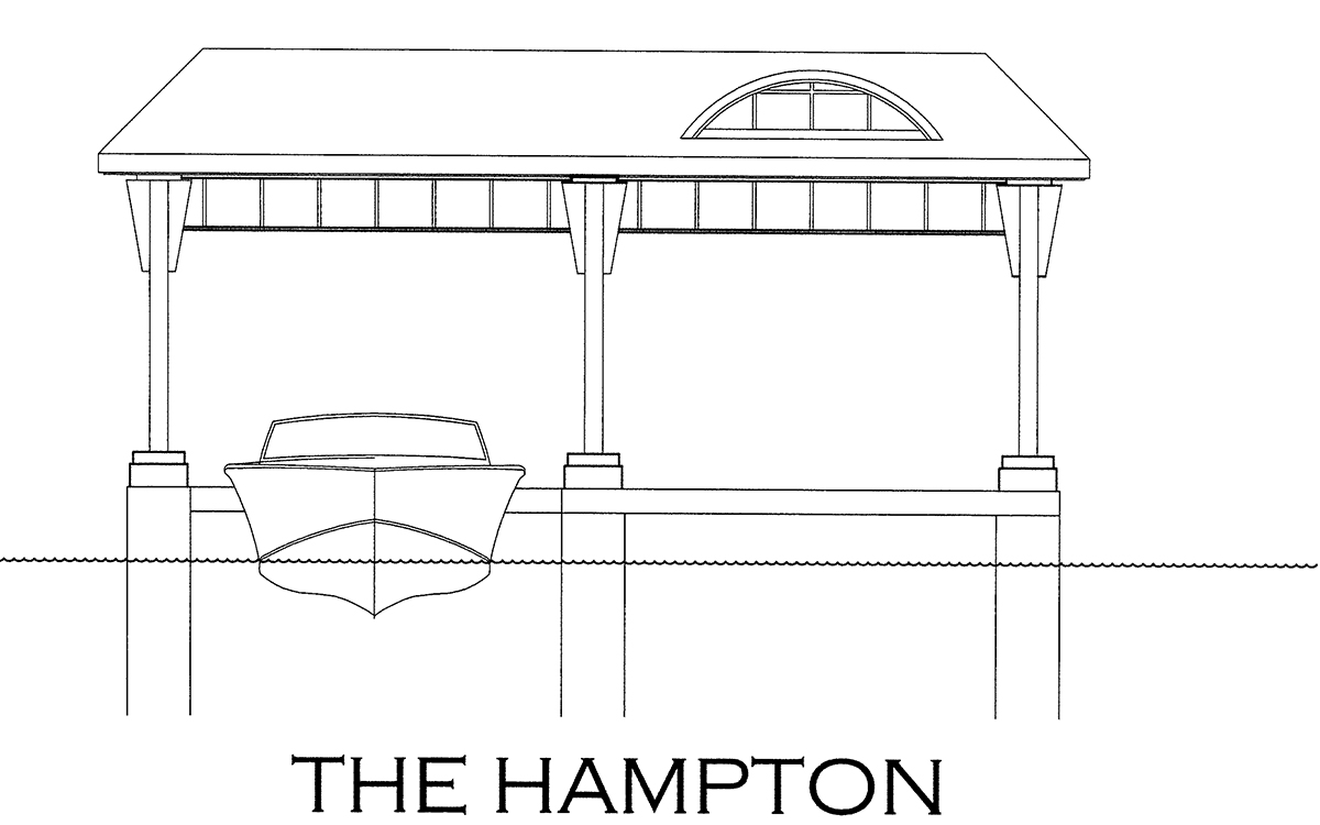 The Hampton Boathouse Design