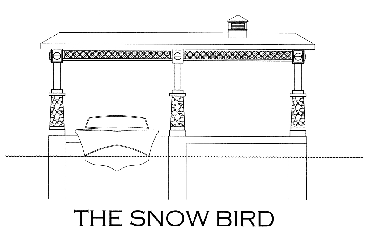 The Snow Bird Boathouse Design