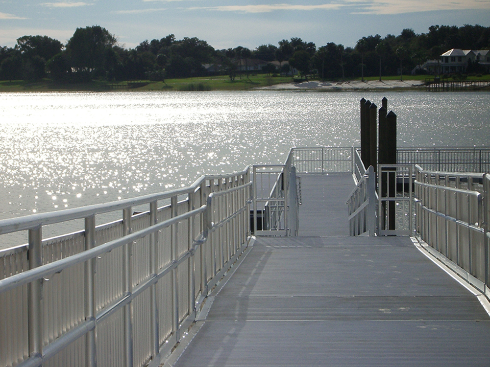 aluminum floating dock builders