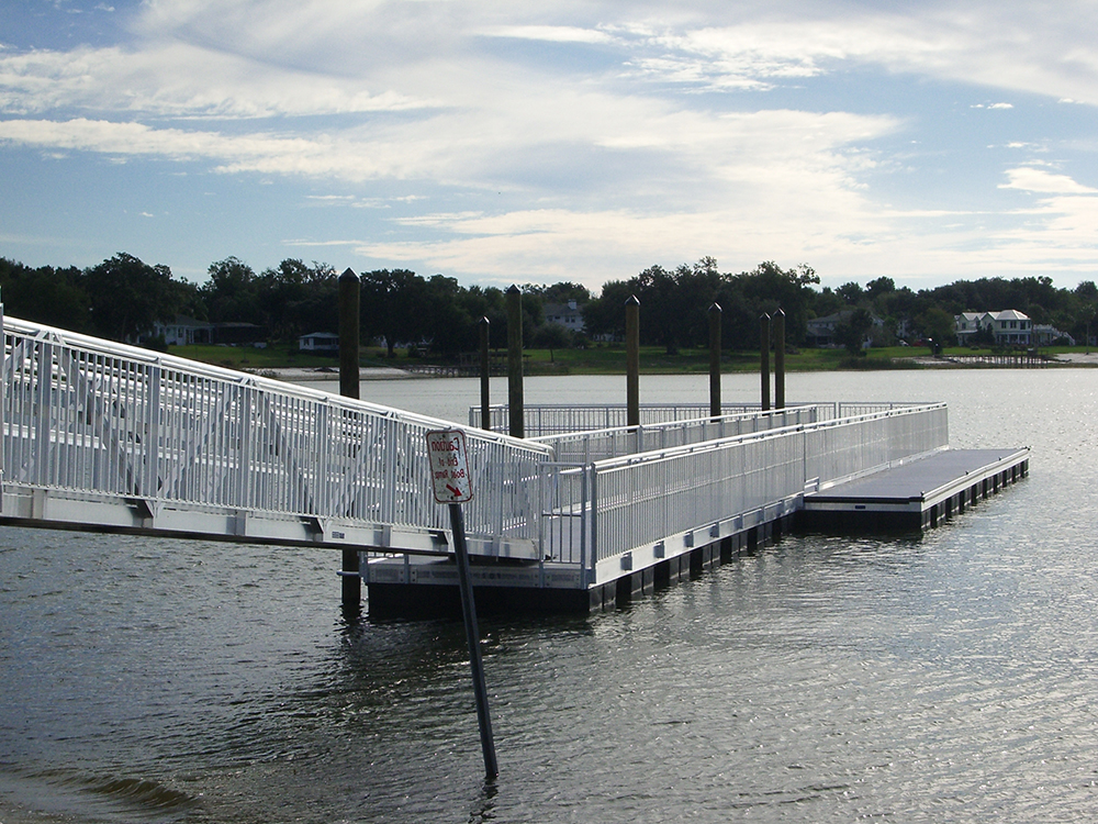 aluminum floating dock contractors