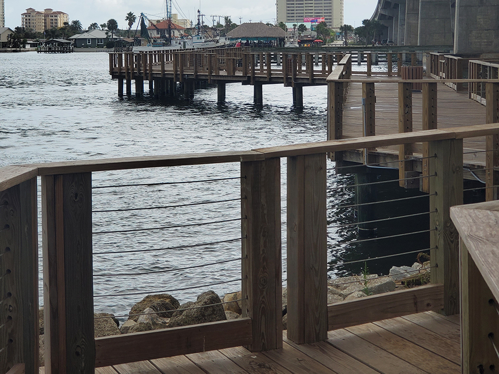 pier ideas for an ocean view property