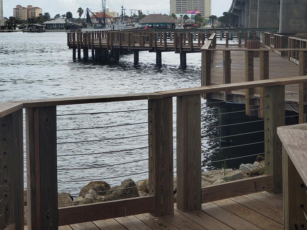 pier ideas for an ocean view property