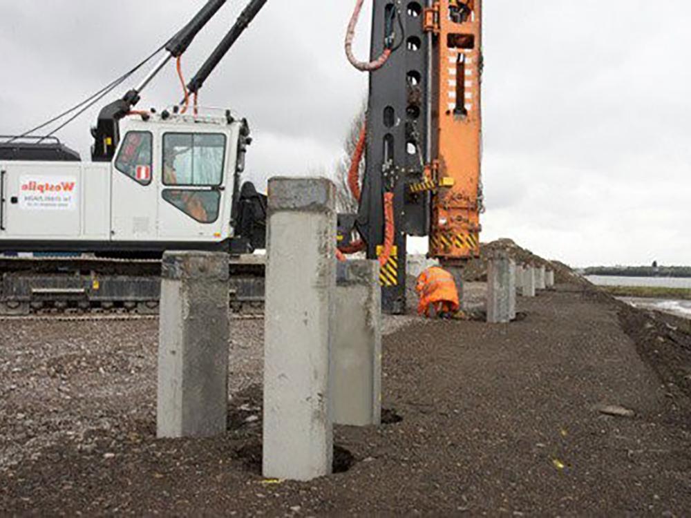 concrete pile contractors