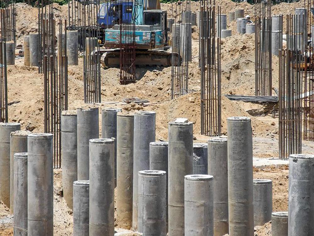 concrete piling contractors