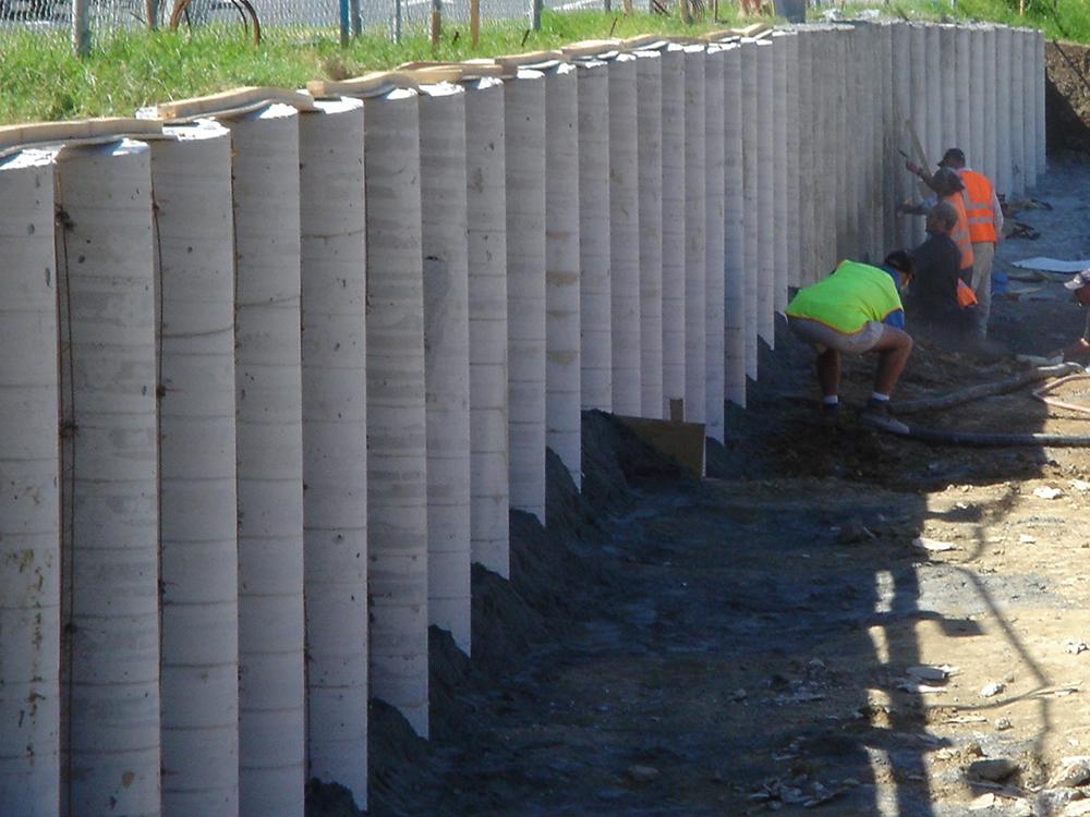 how long do concrete piles last