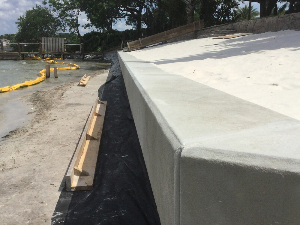 concrete seawall contractors and builders