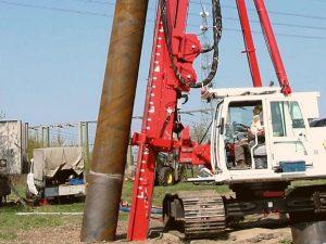 diesel pile hammer