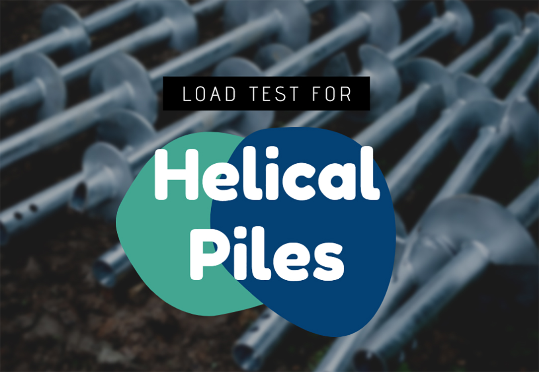 load test for helical piles