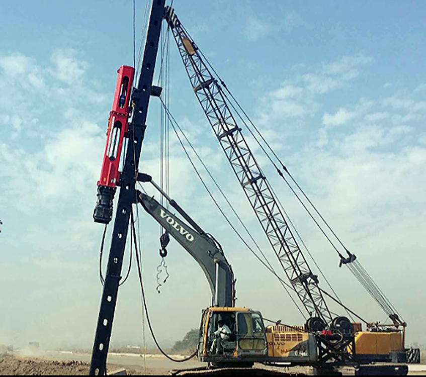 multi purpose piling rigs