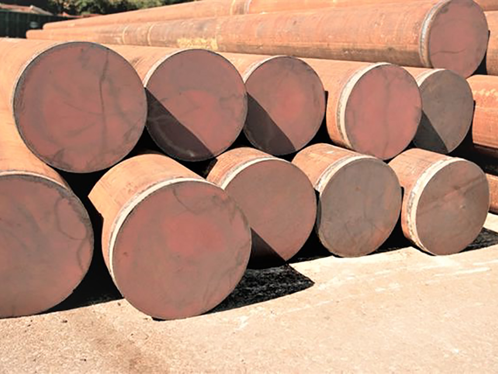 steel pipe piling foundations and services