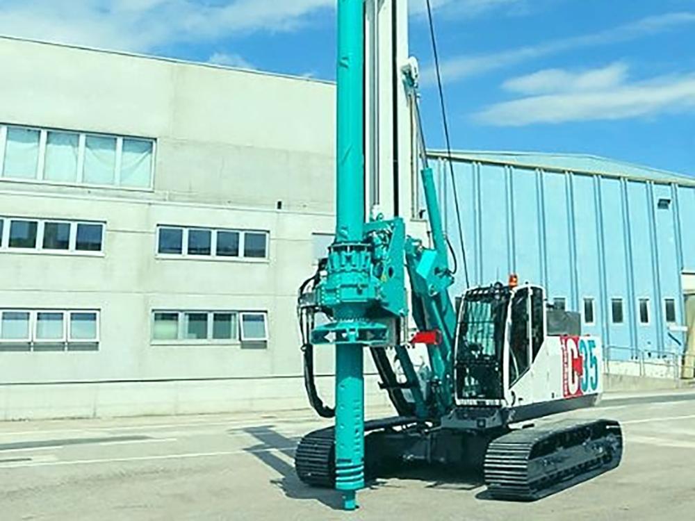 steel sheet pile driving equipment