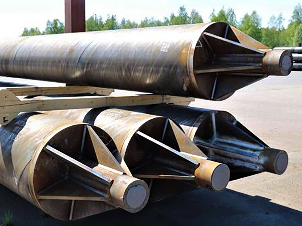 types of pipe piling