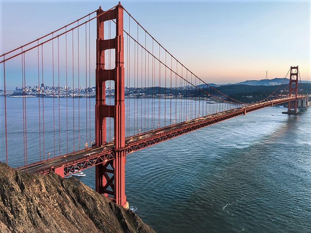 what makes a bridge strong
