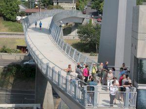 are pedestrian bridges safe