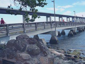 pedestrian bridge piers