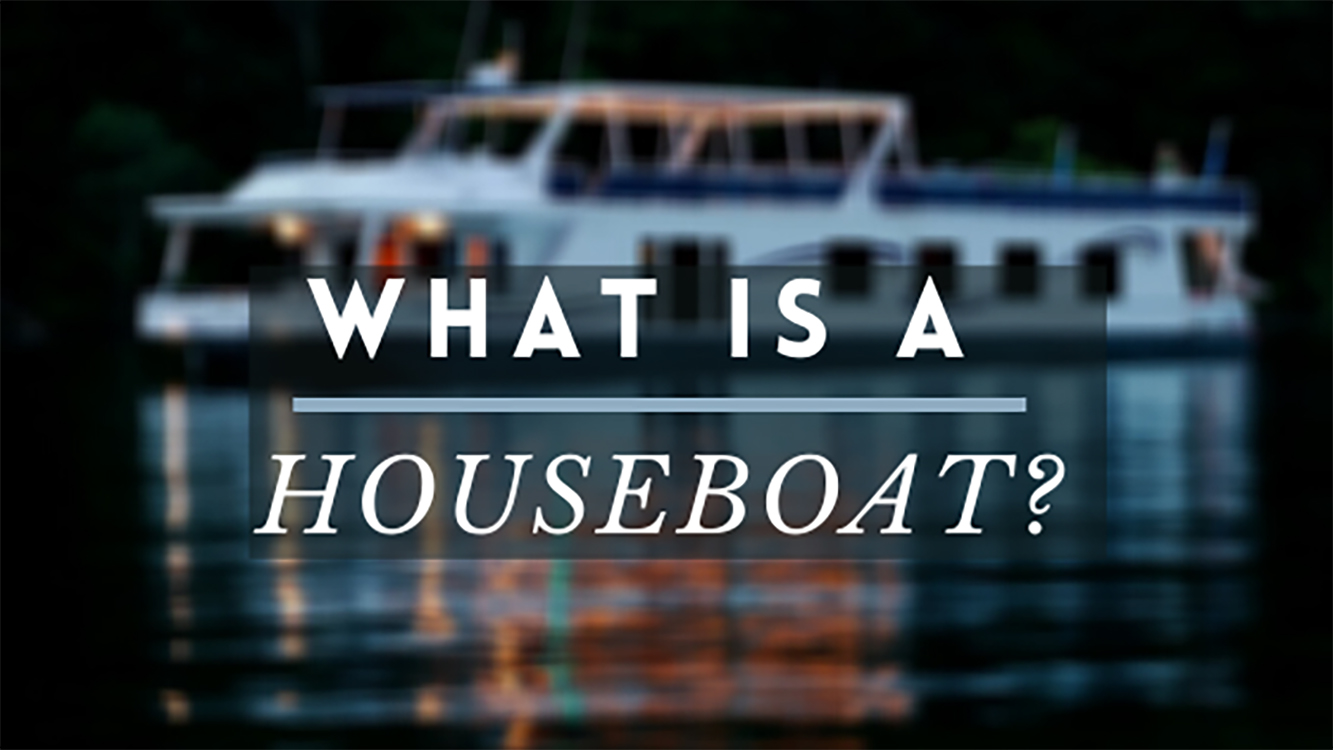 what is a houseboat