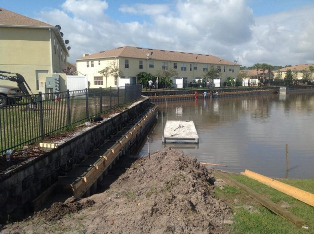 Seawall Construction Orlando FL