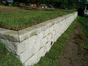 Clayton's Anchor Wall