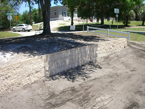 Dr. Hines Retaining Wall