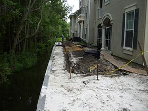 Hunter's Creek Seawall Repair