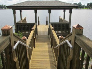 MI Homes Community Dock