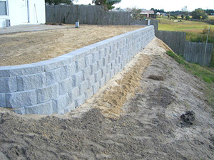 MSE Retaining Wall