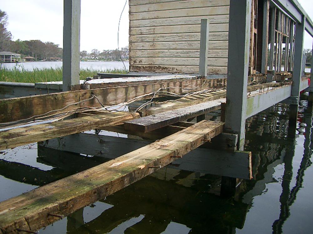Boathouse Repair