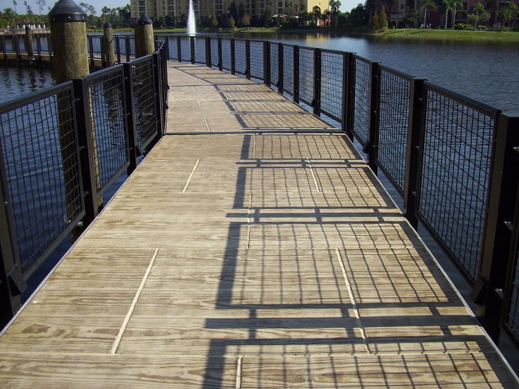 basic boardwalk construction fender marine