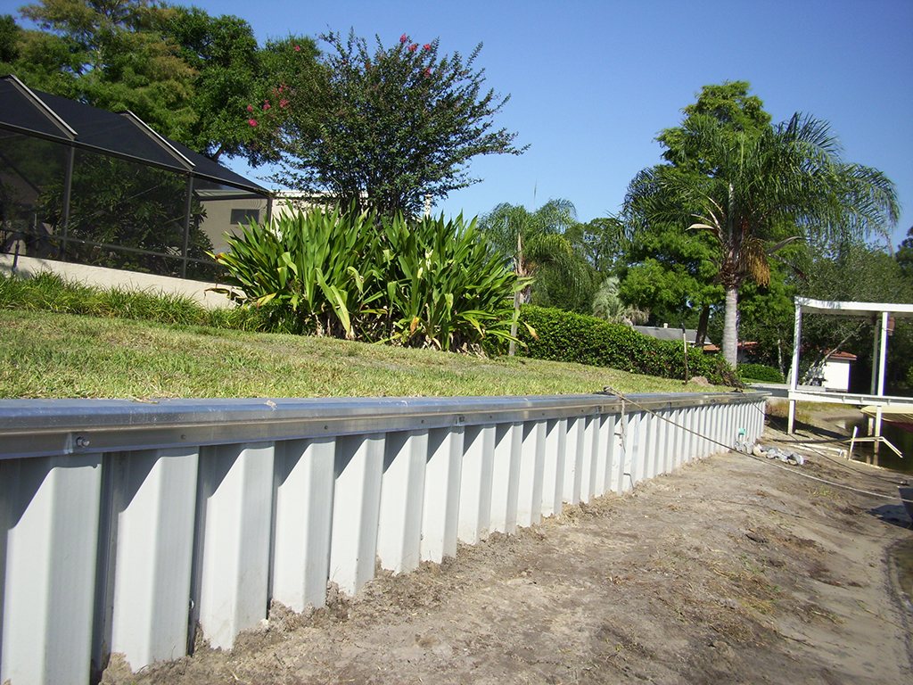 custom retaining wall contractors in central florida