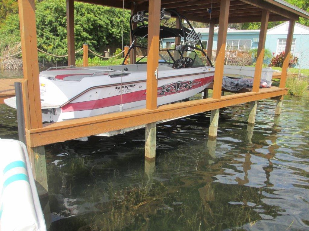 silver-model-boat-dock