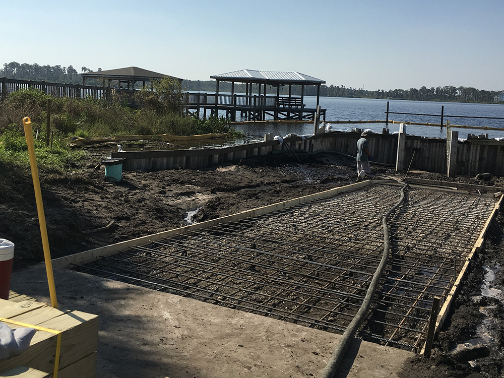 boat ramp installation services