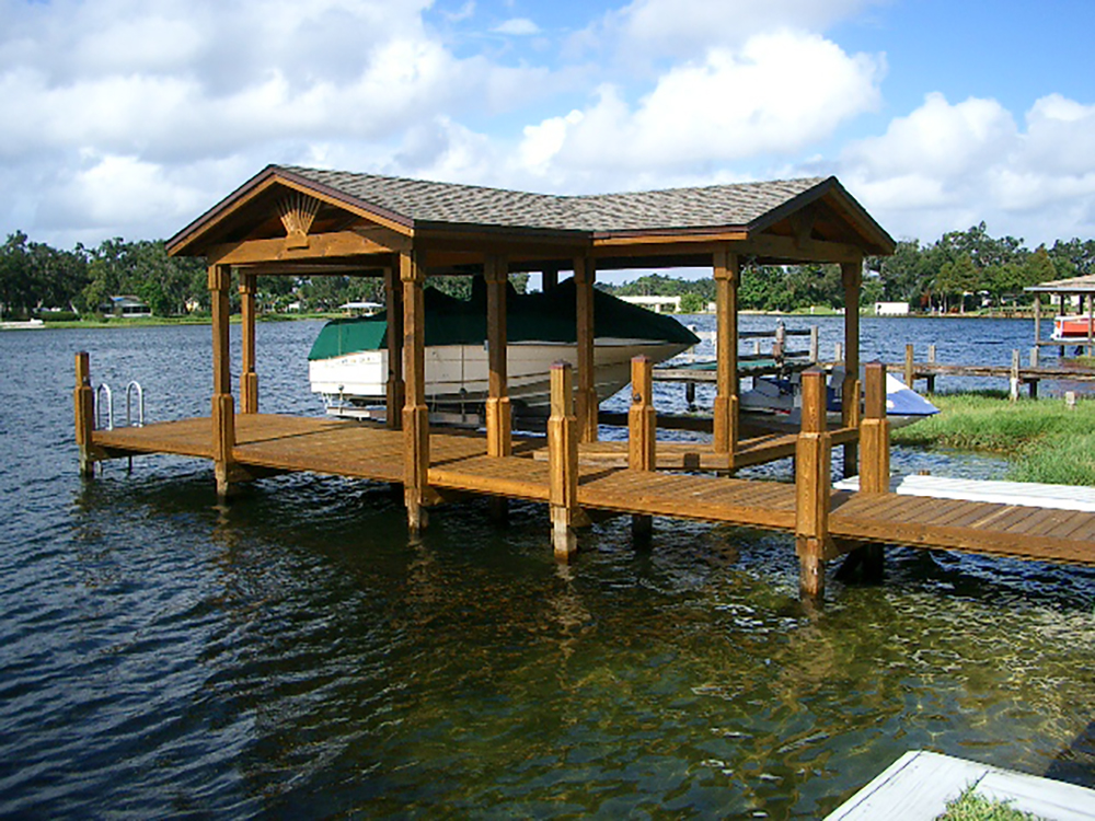 custom boathouse contractors