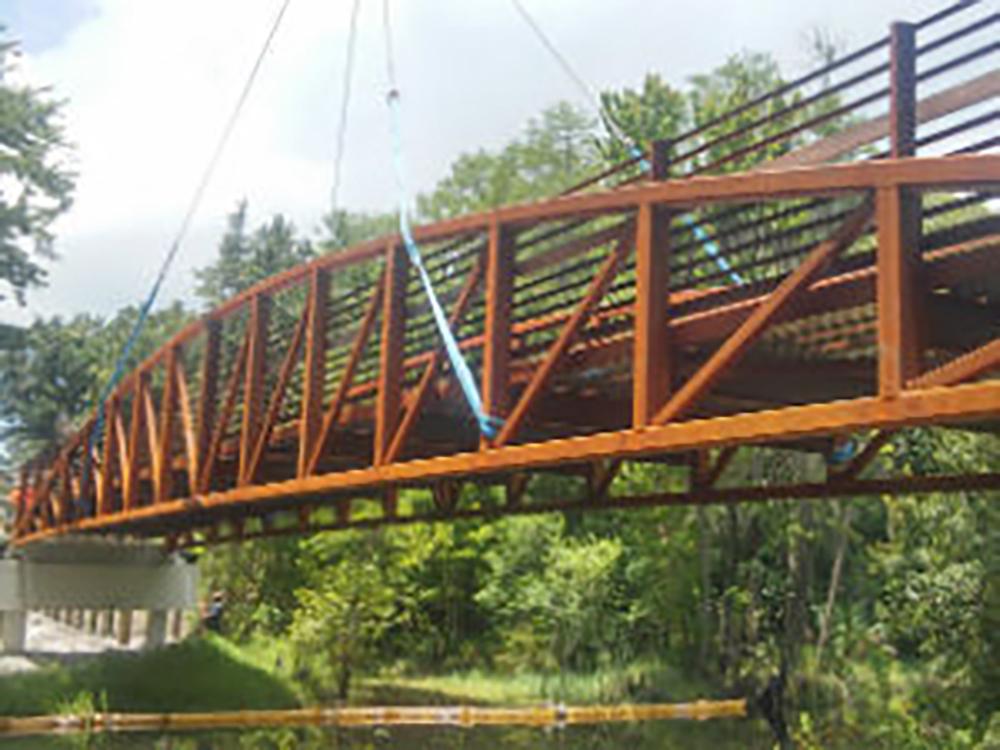 vehicle bridge constructions