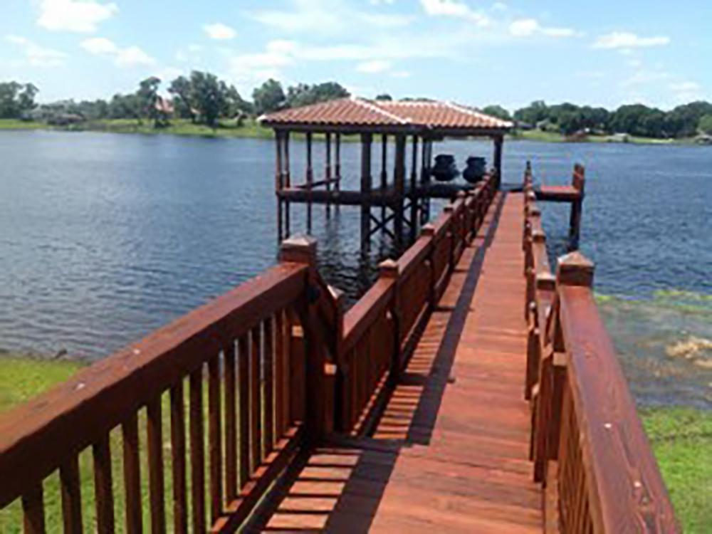 boat dock contractors in central florida