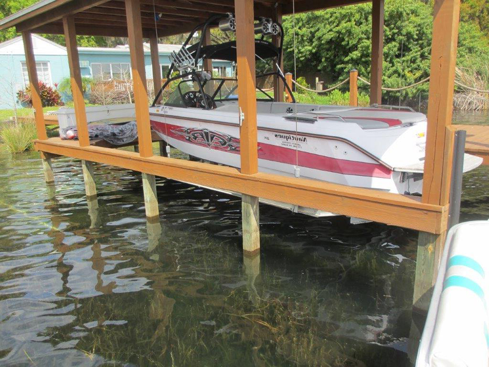 custom dock silver model