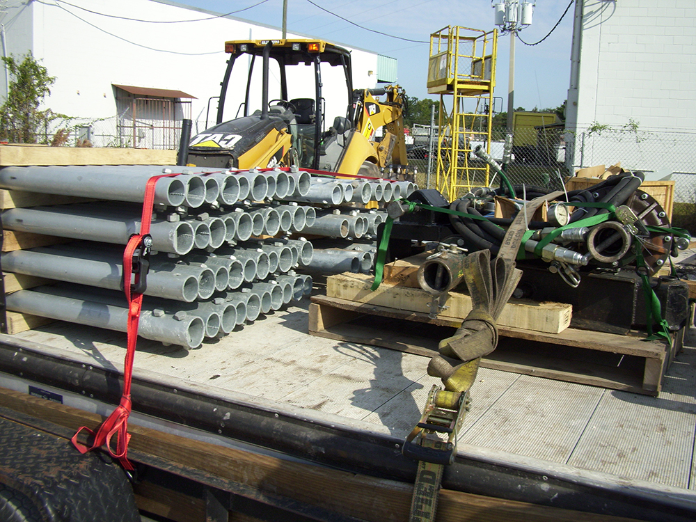 helical pile driving contractors