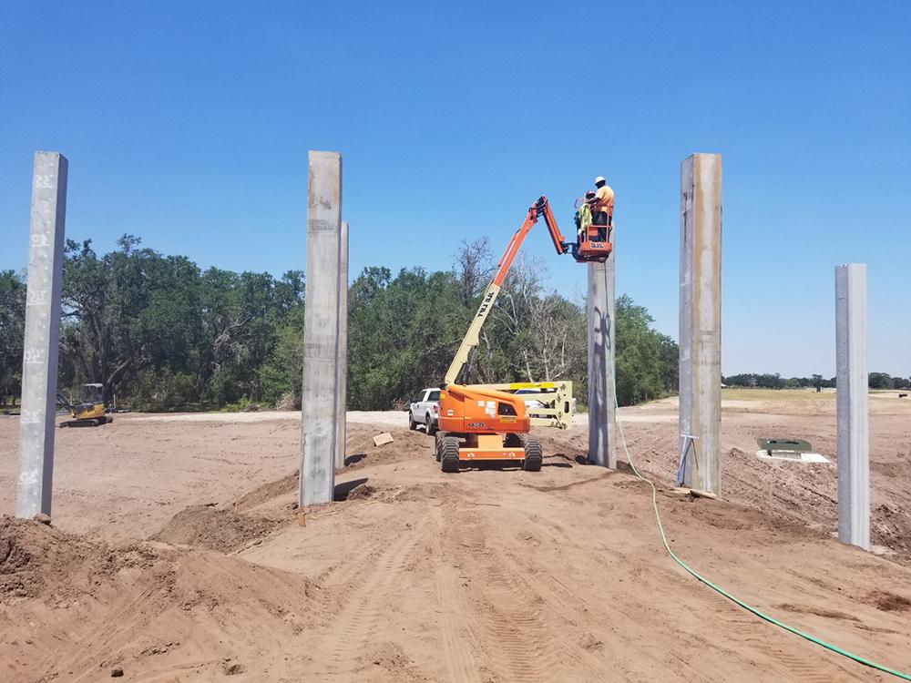 precast concrete piling contractors in central florida